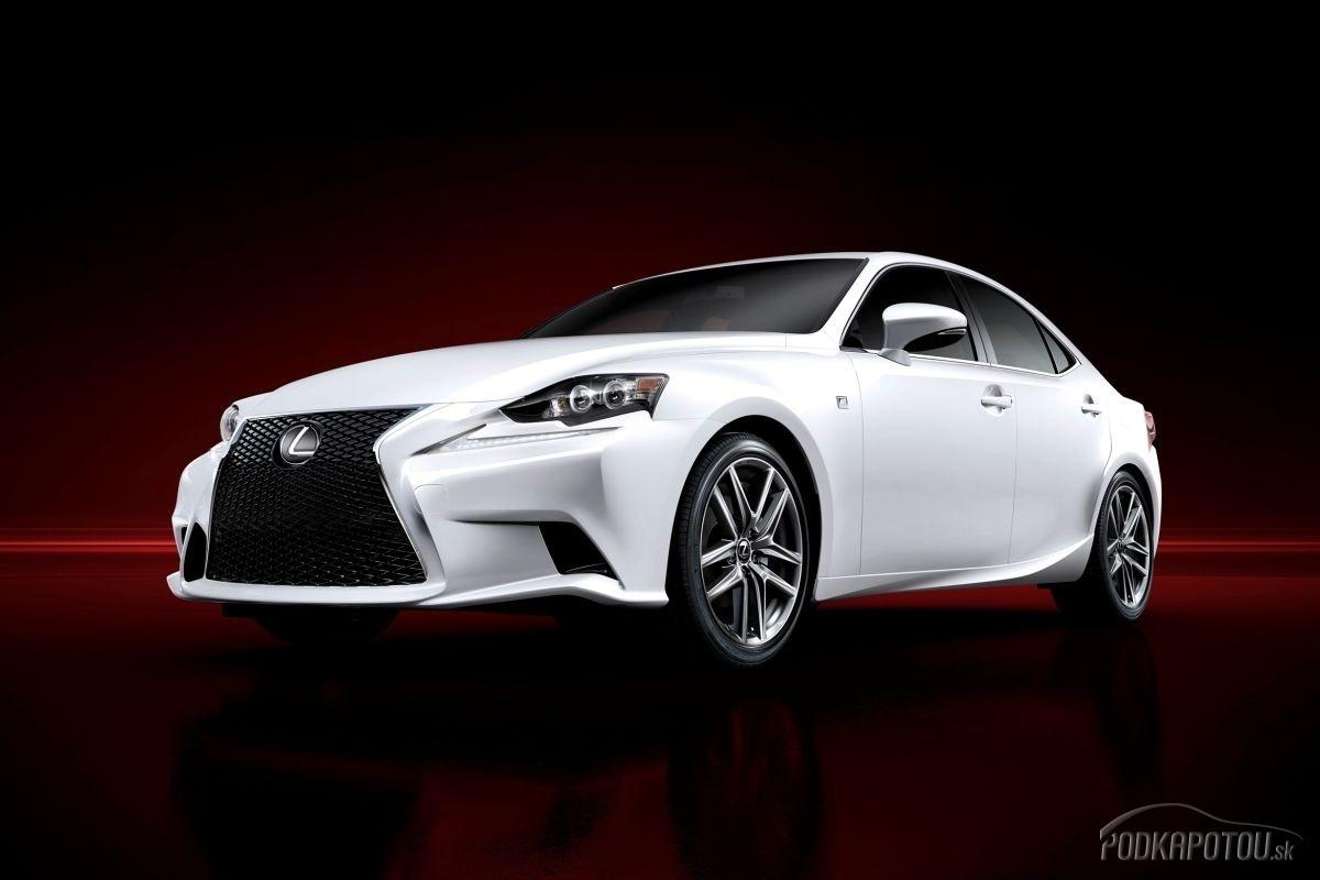 Nová generácia Lexus IS