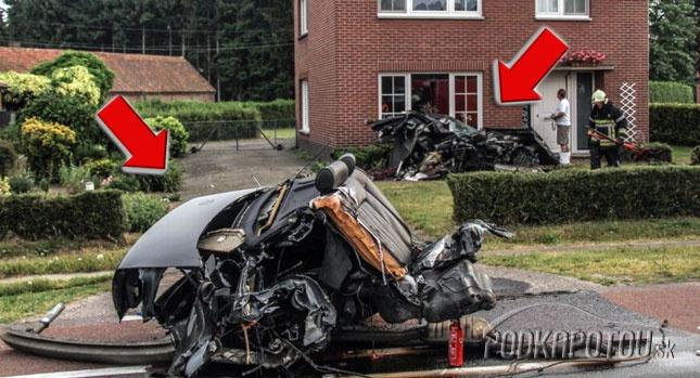 Audi S8 po nehode