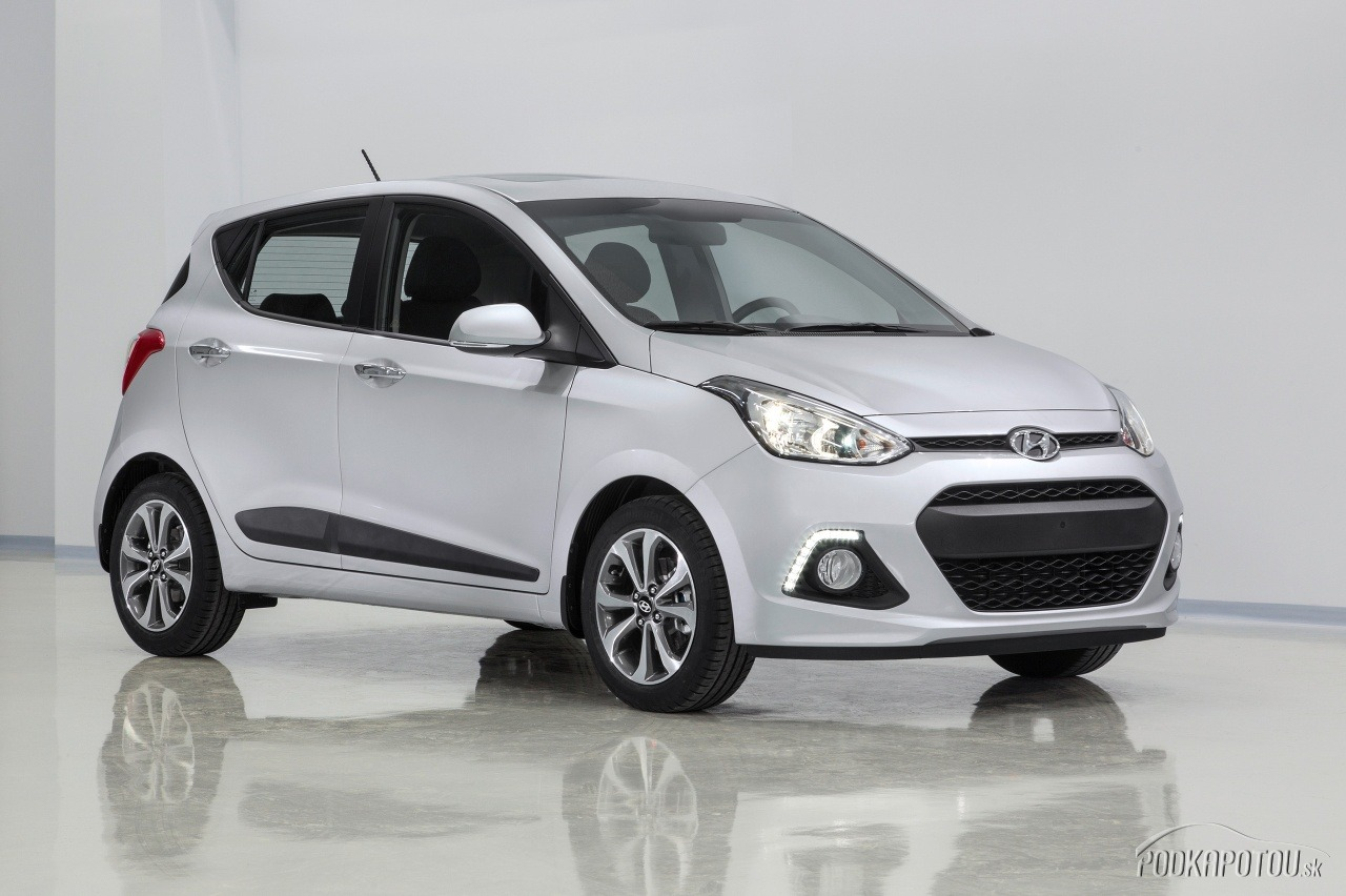 Nový Hyundai i10 bude