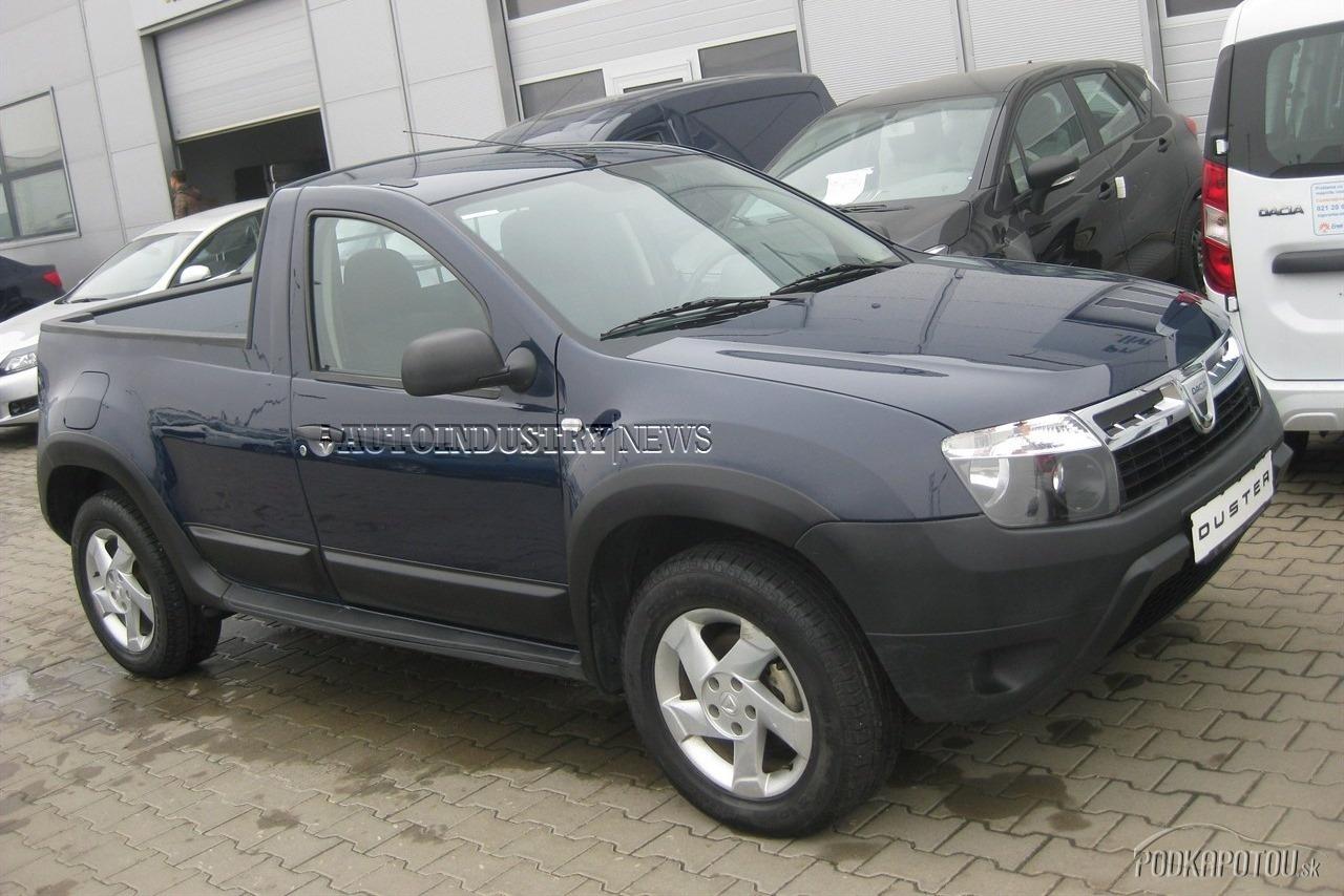 Dacia Duster pick up