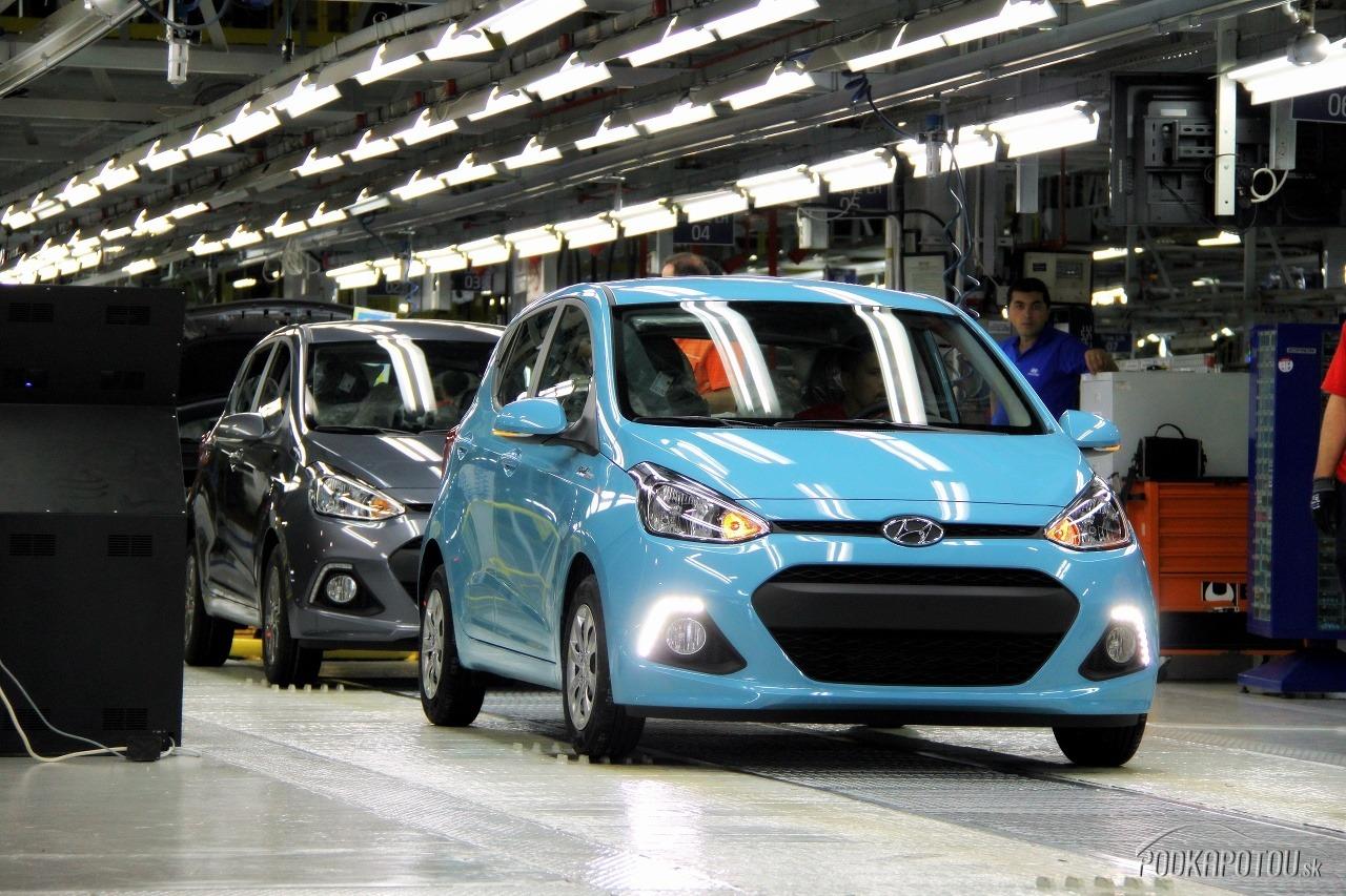 Hyundai i10 schádza z