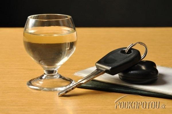 Alkohol za volant nepatrí