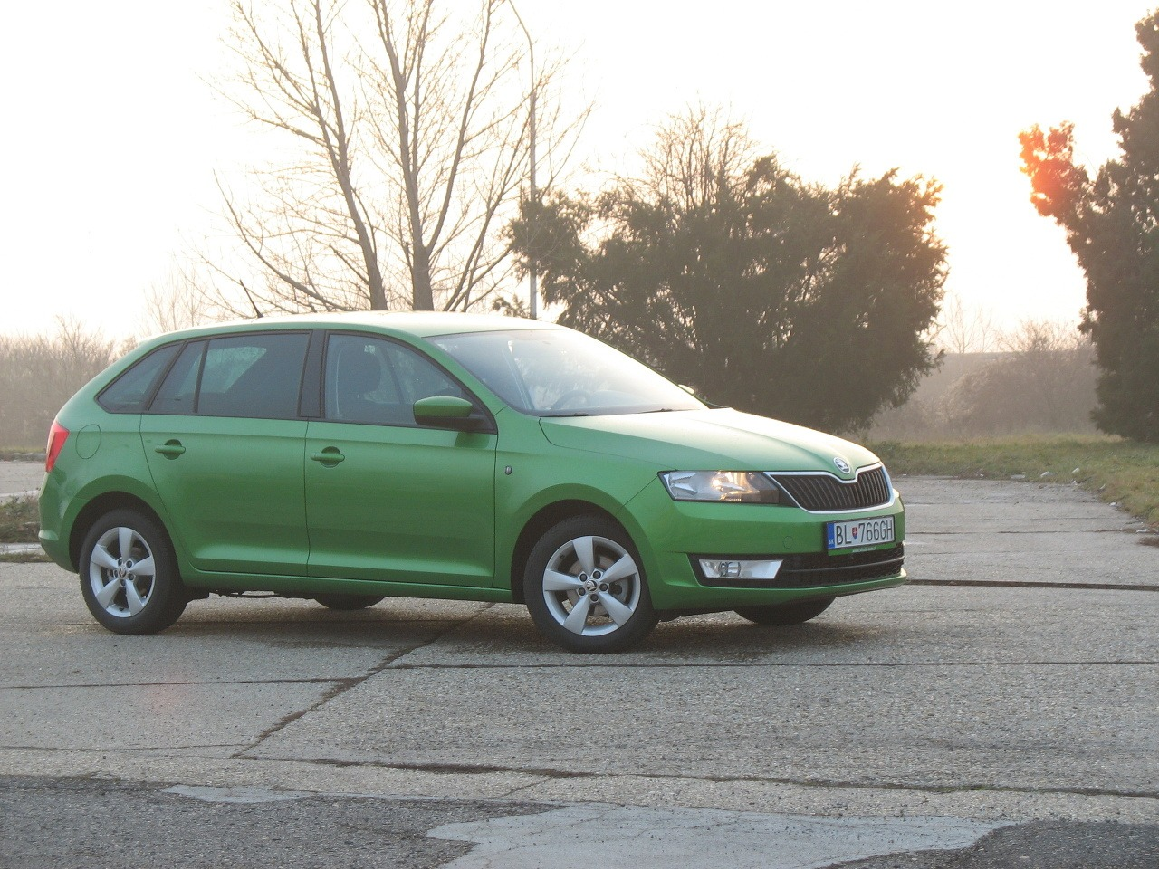Škoda Rapid Spaceback 1,2