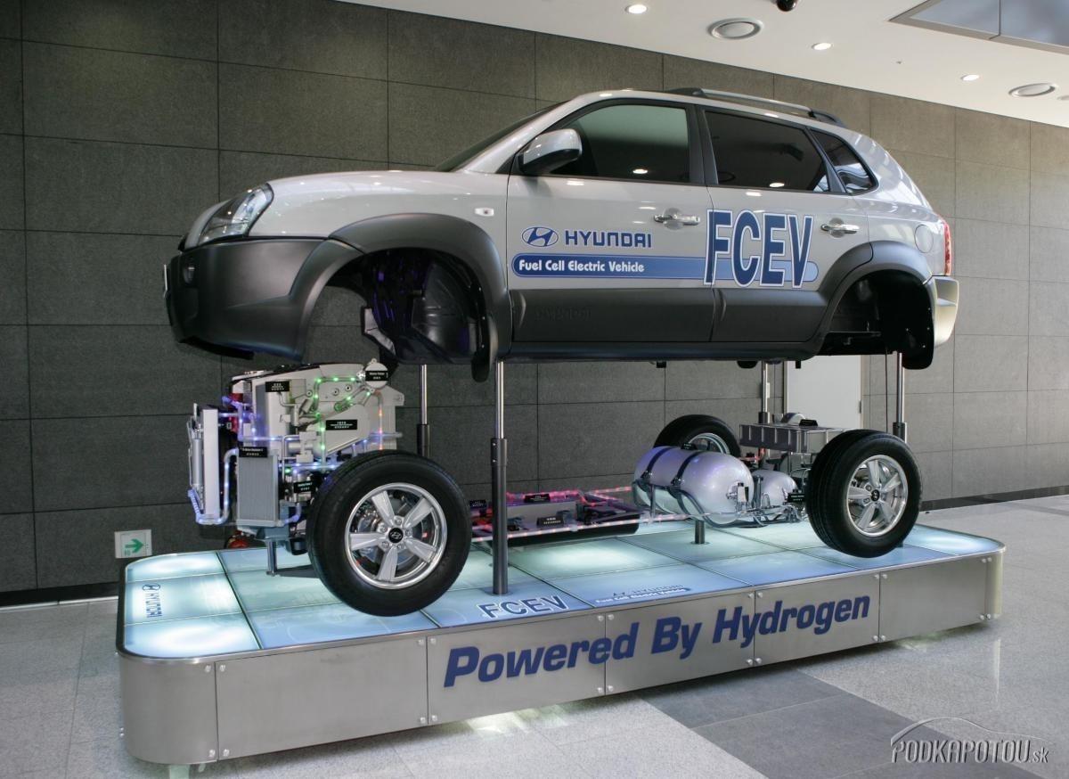 Autá na vodík s
