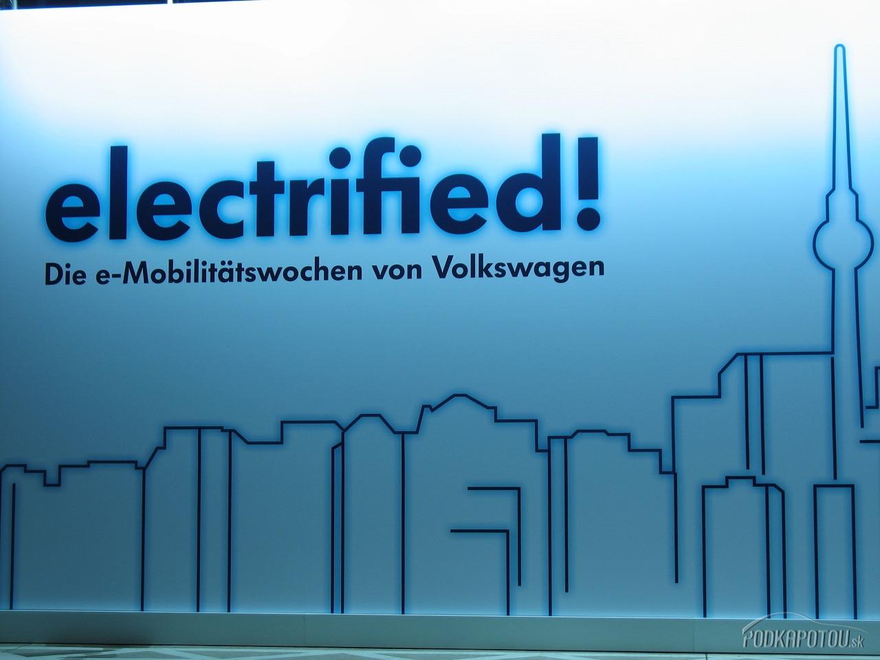 Electrified! Symbol a logo