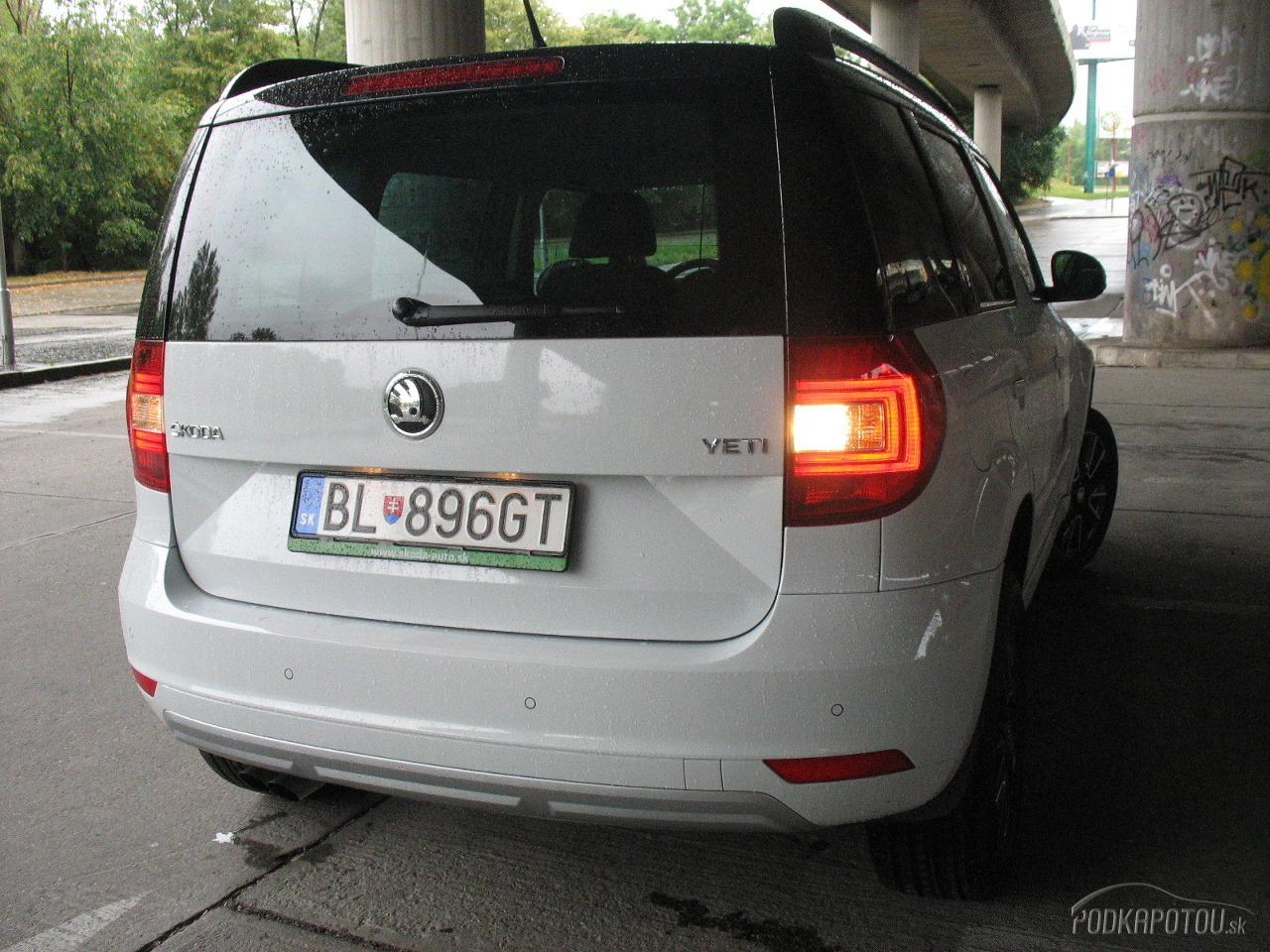 Škoda Yeti 1,4 TSI