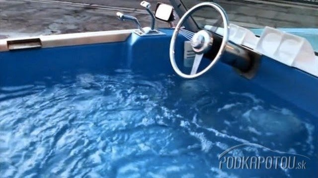 Bazén na kolesách -