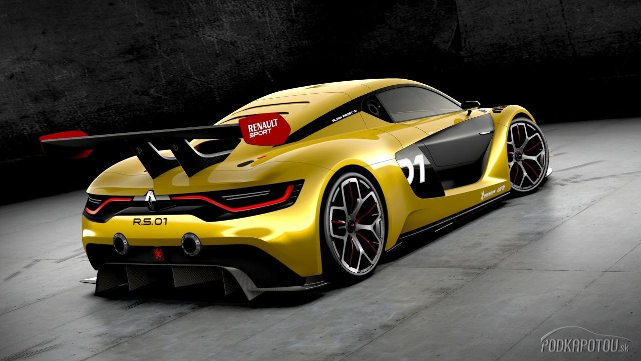 Renault Sport R.S.01 je
