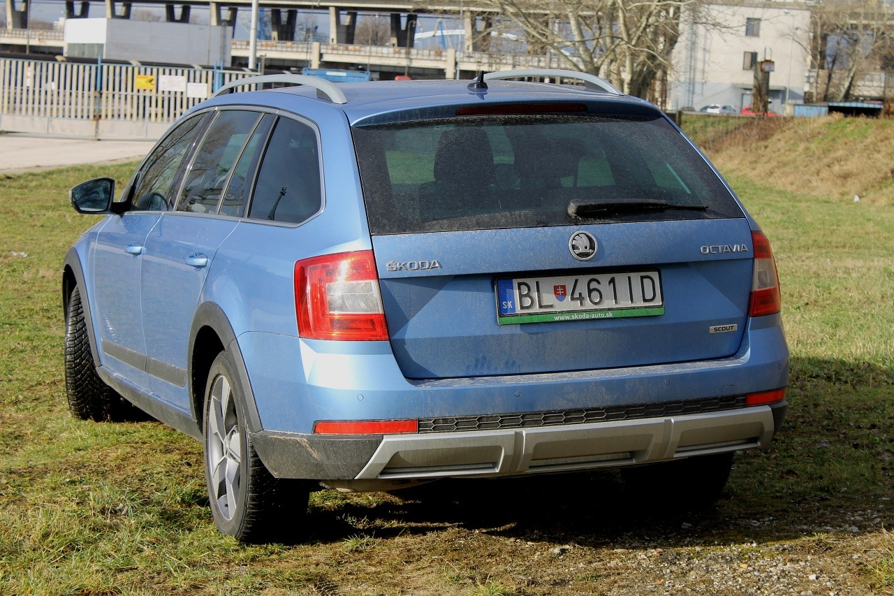Škoda Octavia Scout 2,0