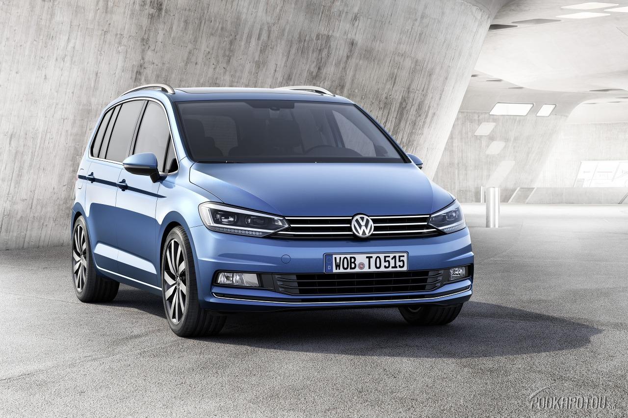 Nový Volkswagen Touran sa