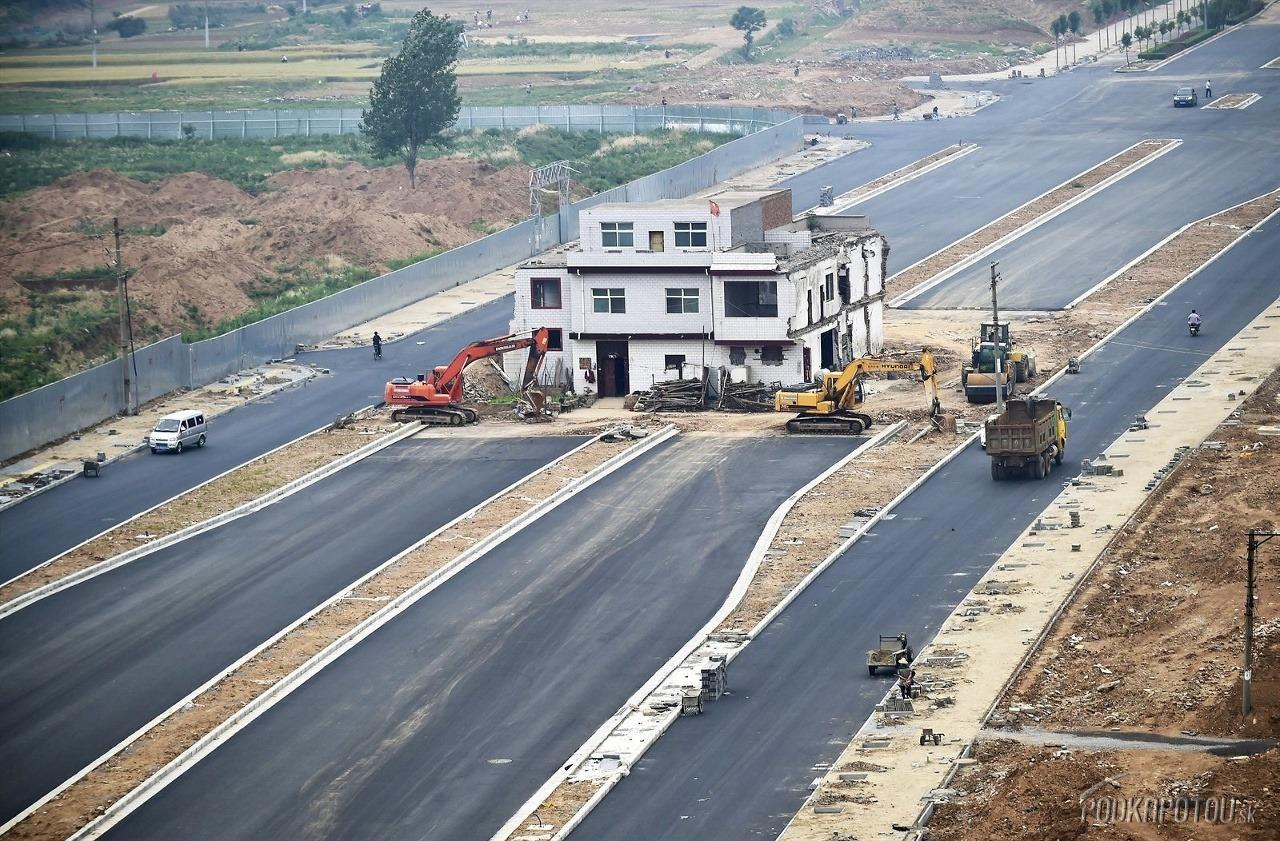 Ako v Číne stavajú