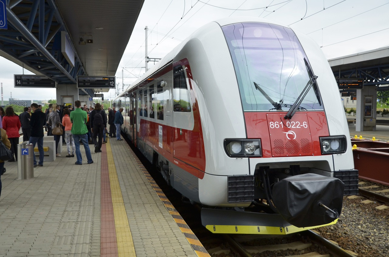 Vlak Ilustračné foto