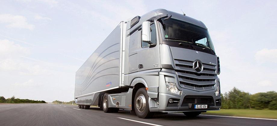 Daimler Mercedes kamión
