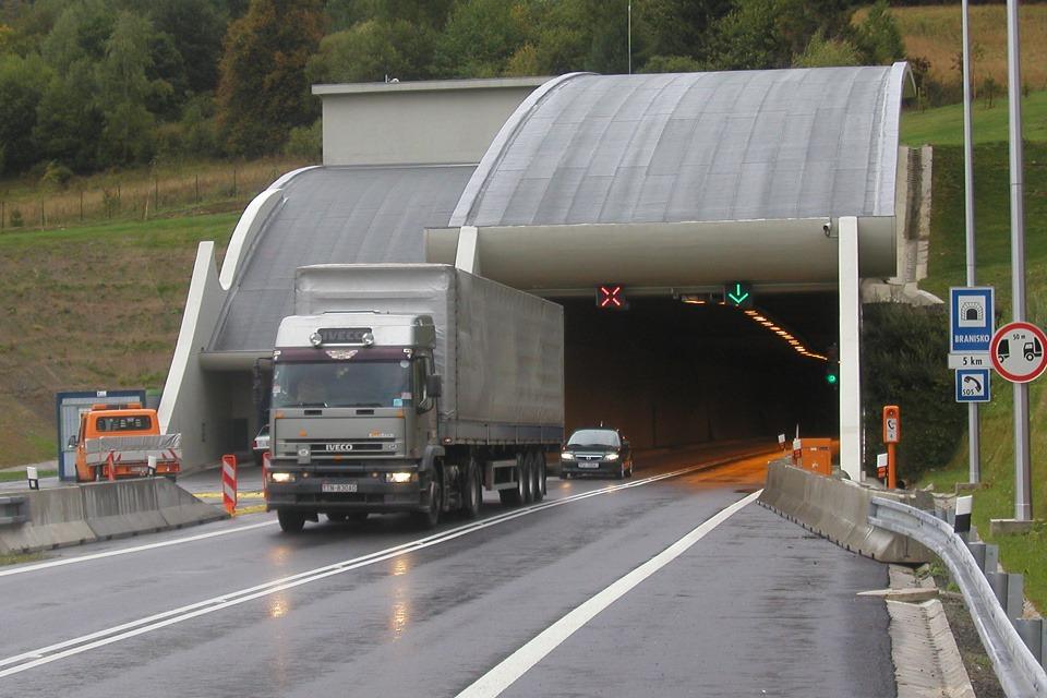 D1 tunel Branisko