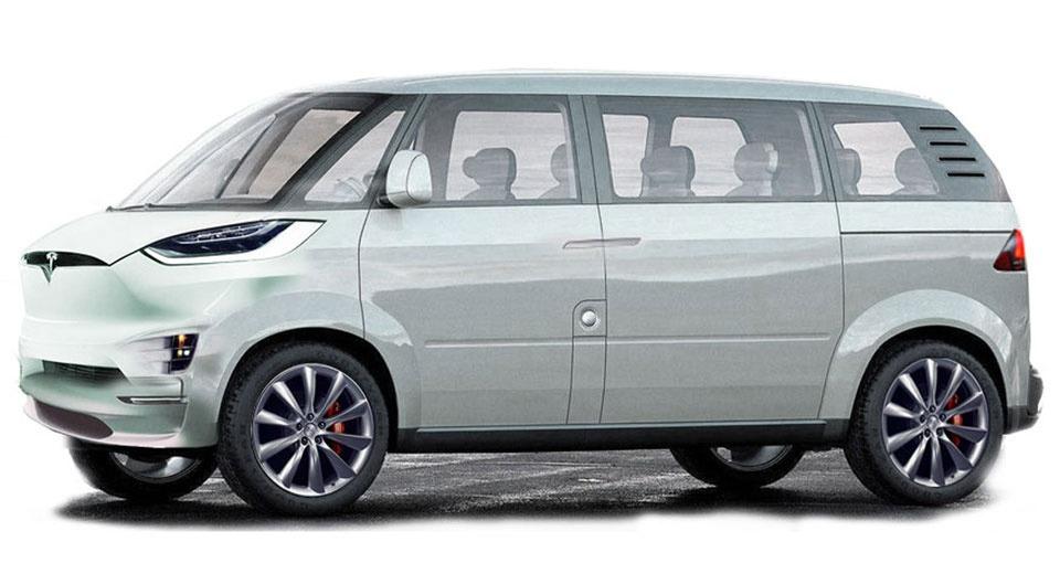 Tesla Minibus?