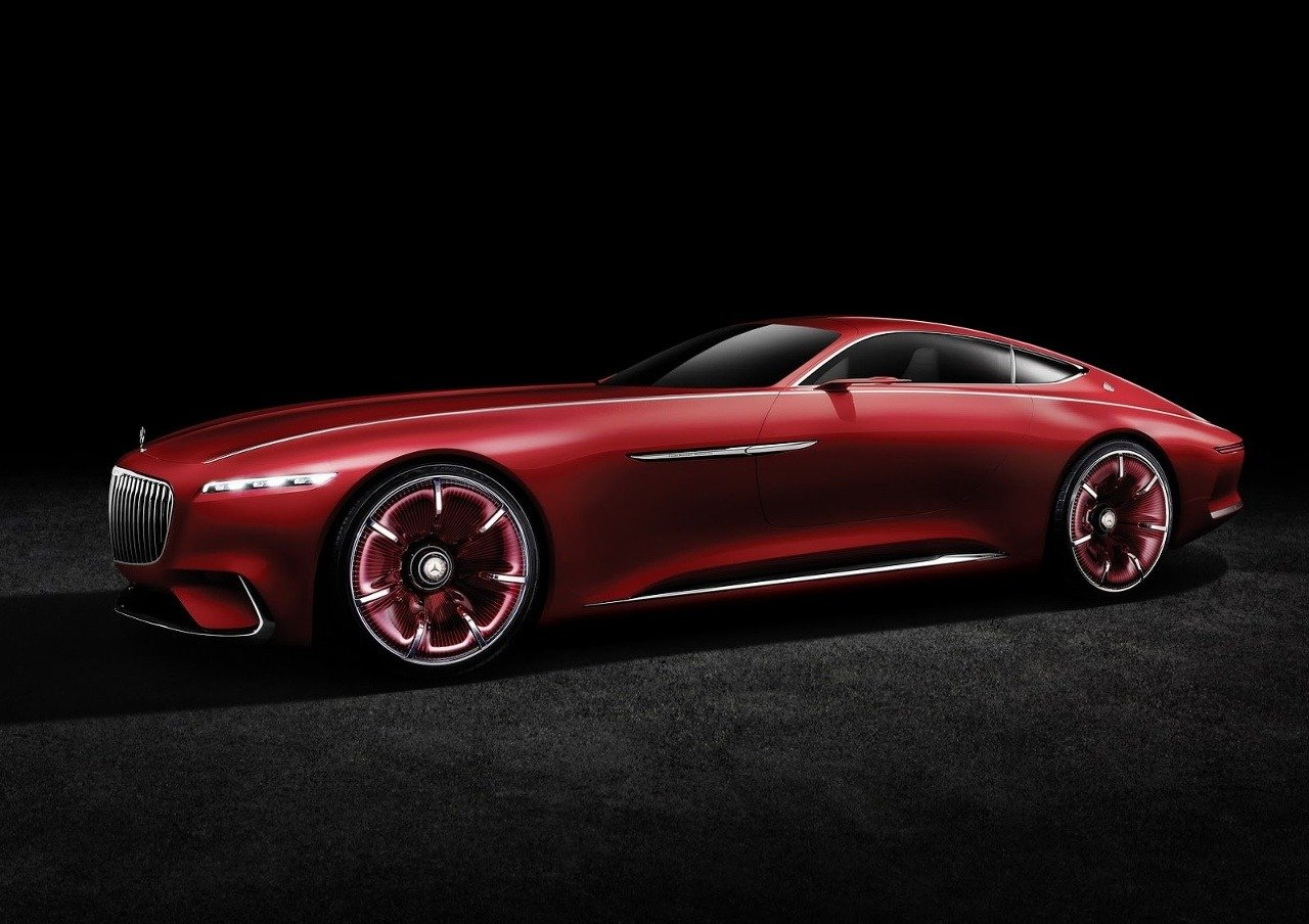 Vision Mercedes-Maybach 6 Coupe