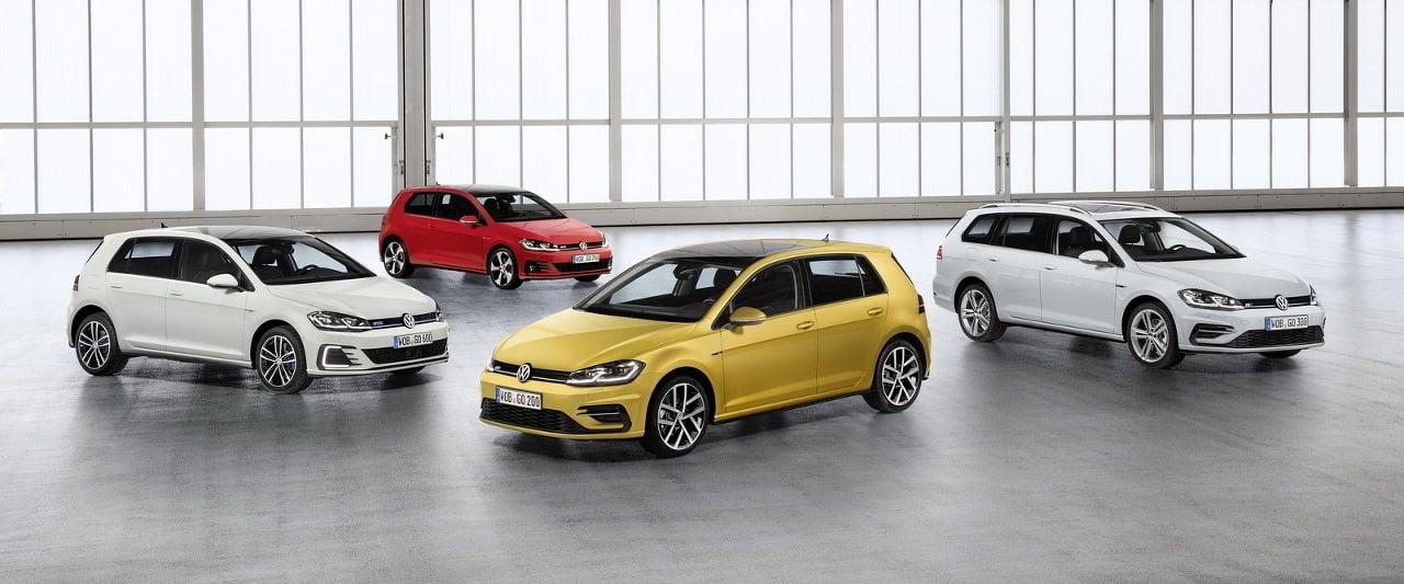 Volkswagen Golf 2017 Ilustračné