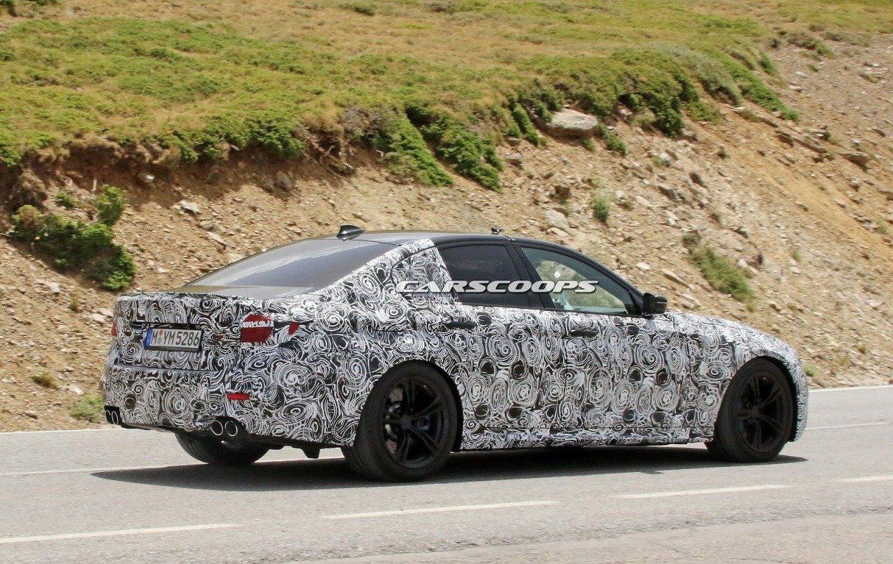 BMW M5 spyshoots