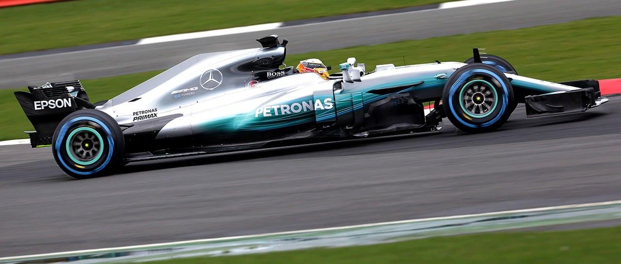 Mercedes F1 W08 EQ