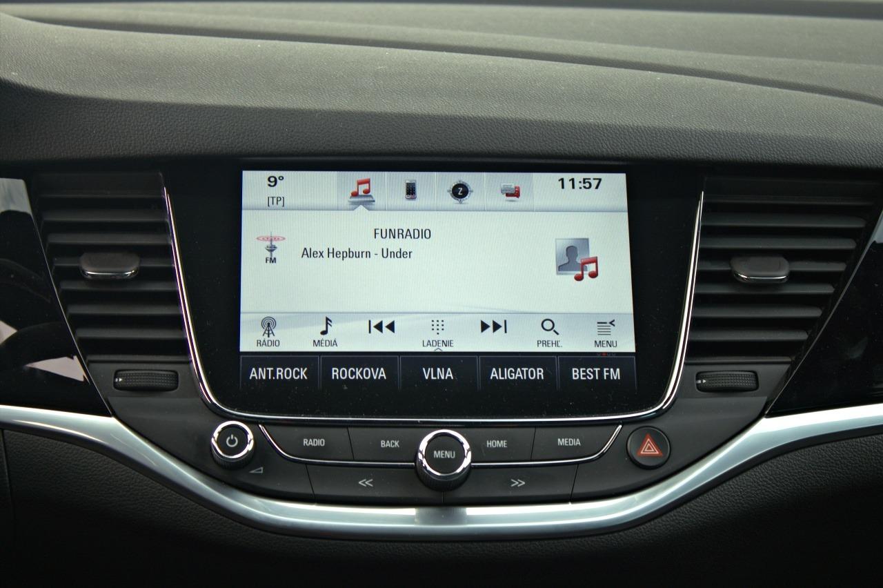 Opel Astra 1,6 Turbo