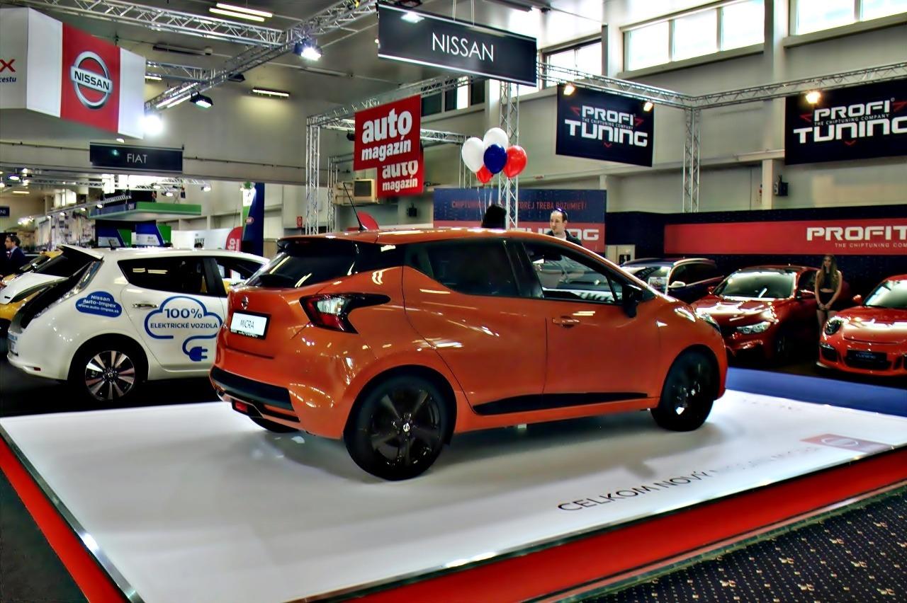 Autosalón v Bratislave 2017