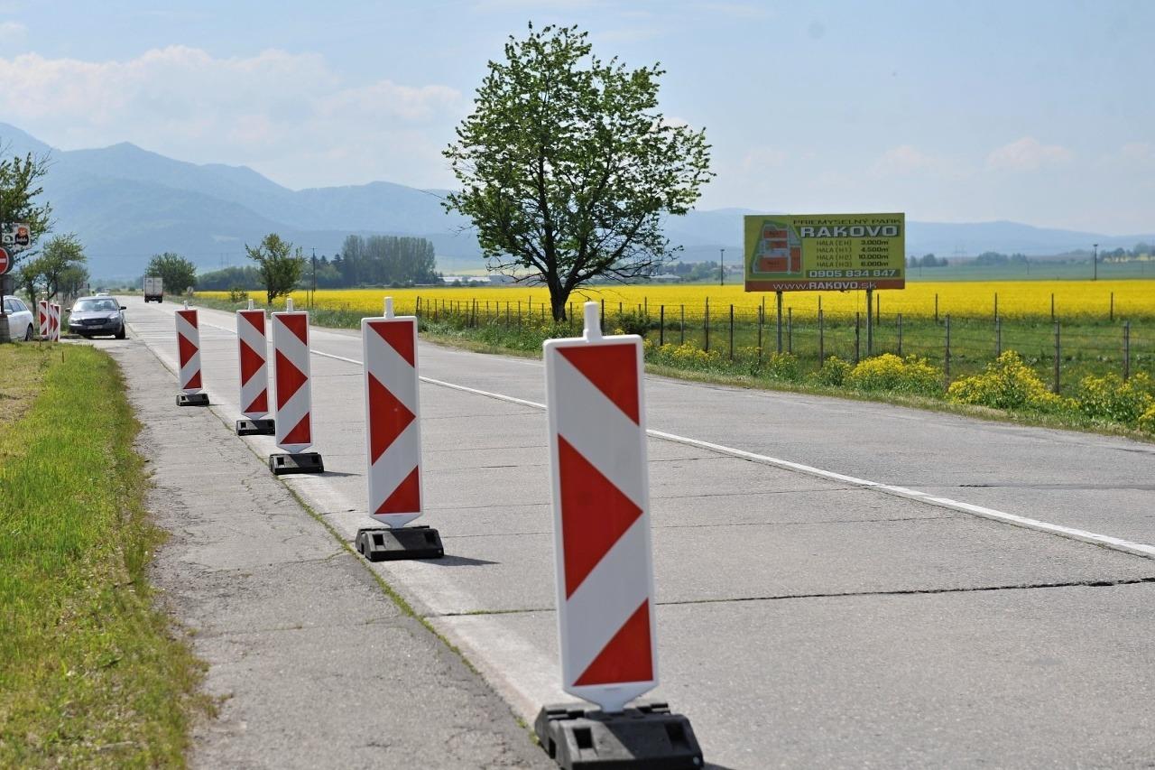 Rekonštrukcia panelovej cesty I/65