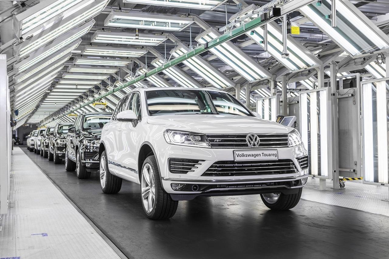 Volkswagen Slovakia dnes vyrobil