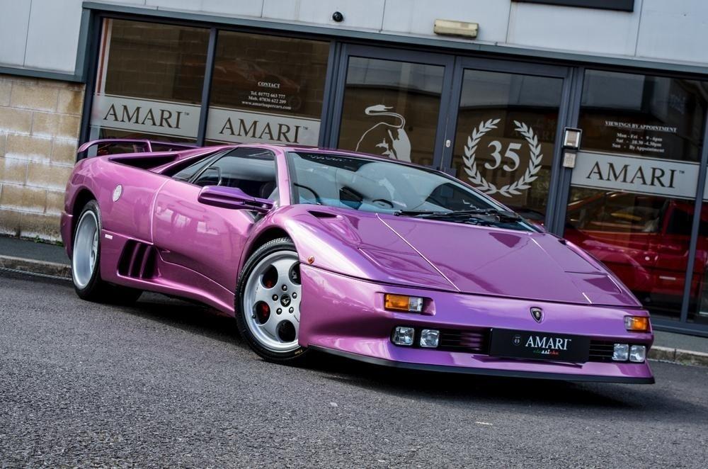 Lamborghini Diablo SE30 Cosmic