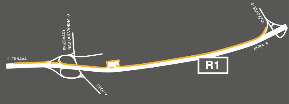 Protihluková stena Vlčkovce