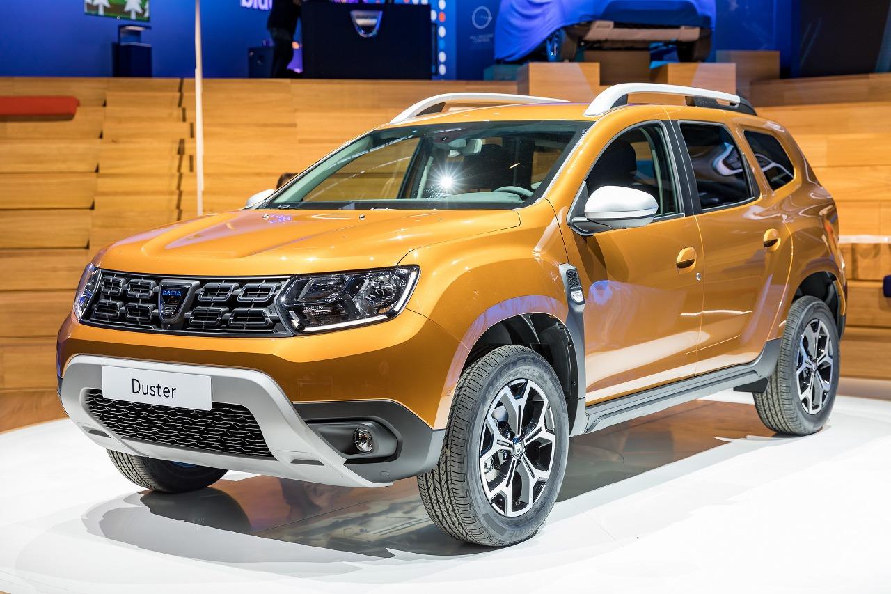Dacia Duster Frankfurt 2017
