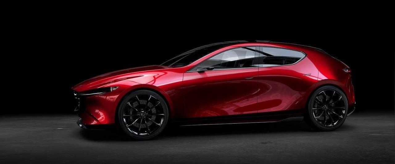 Koncept Mazda 3 Tokyo