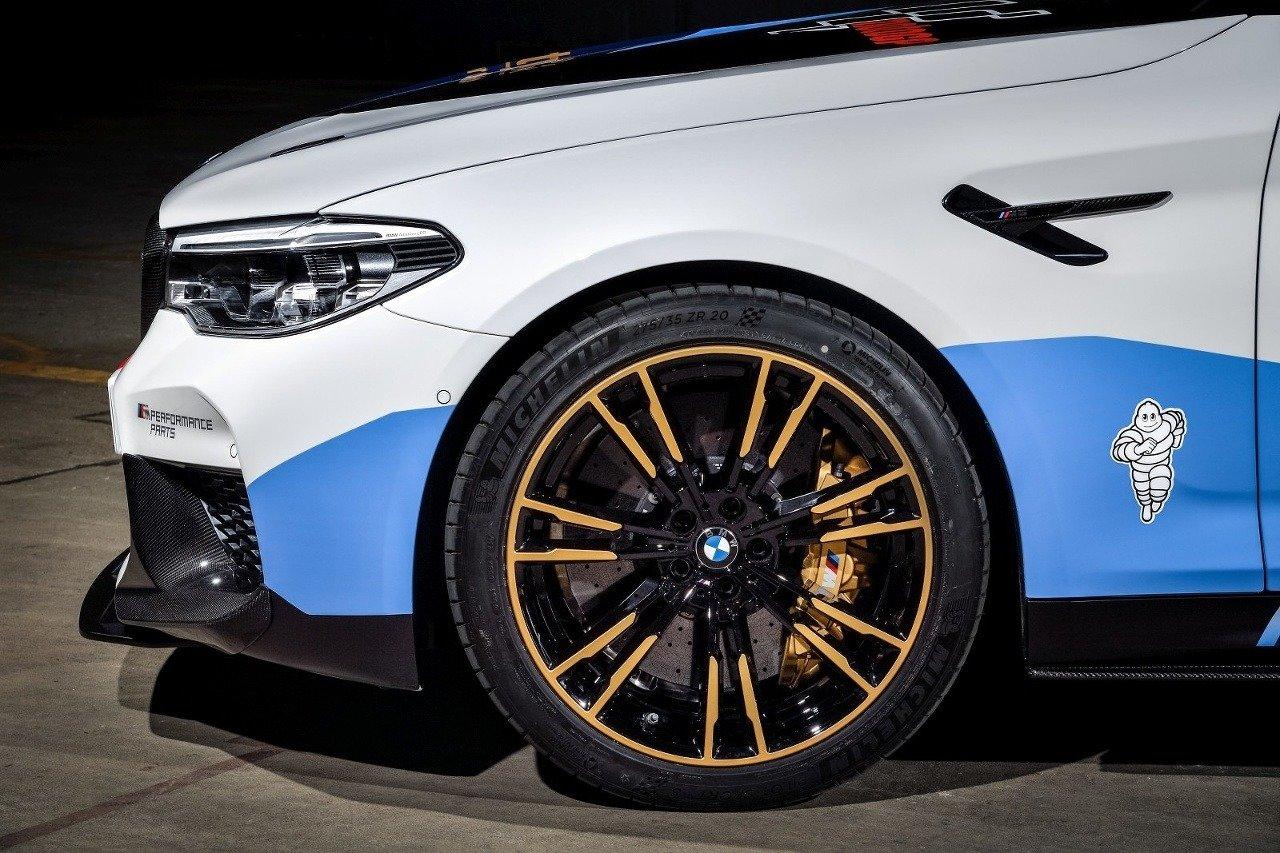 BMW M5 MotoGP Safety