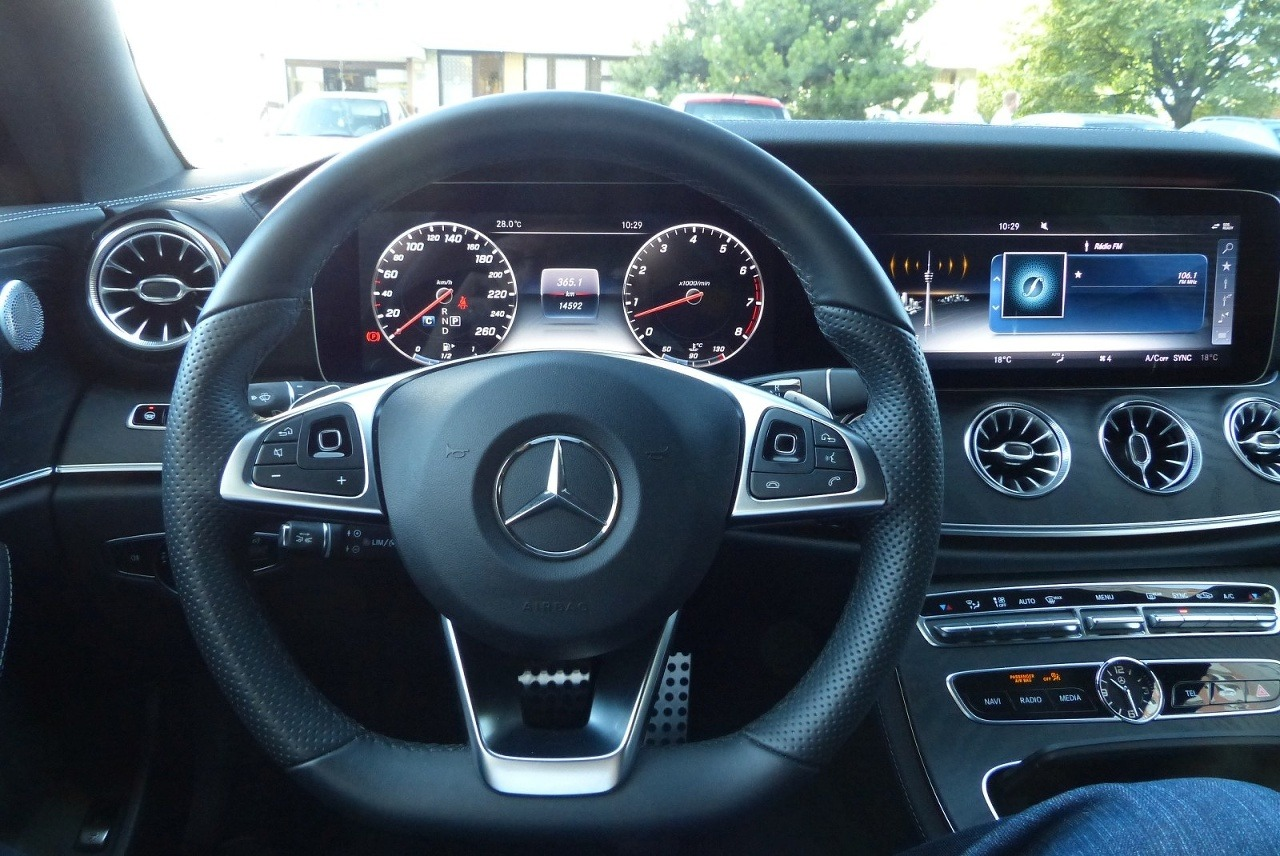 Mercedes E400 4MATIC Coupe