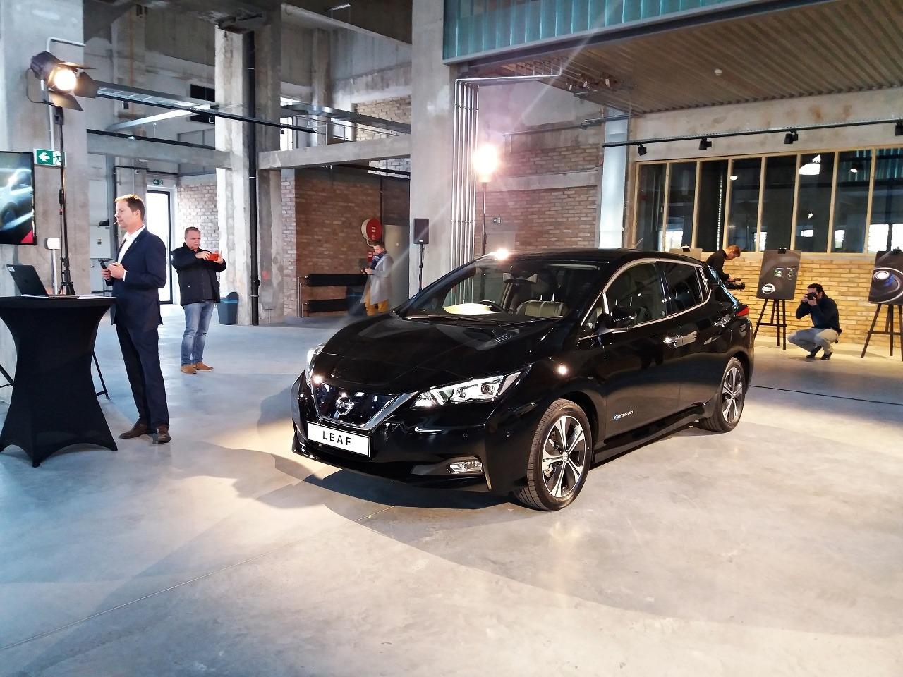 Nissan Leaf dorazil na