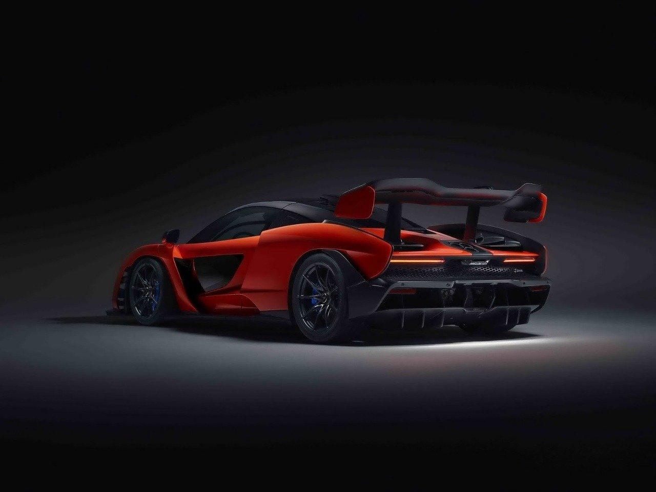 McLaren Senna hyperšport 2018