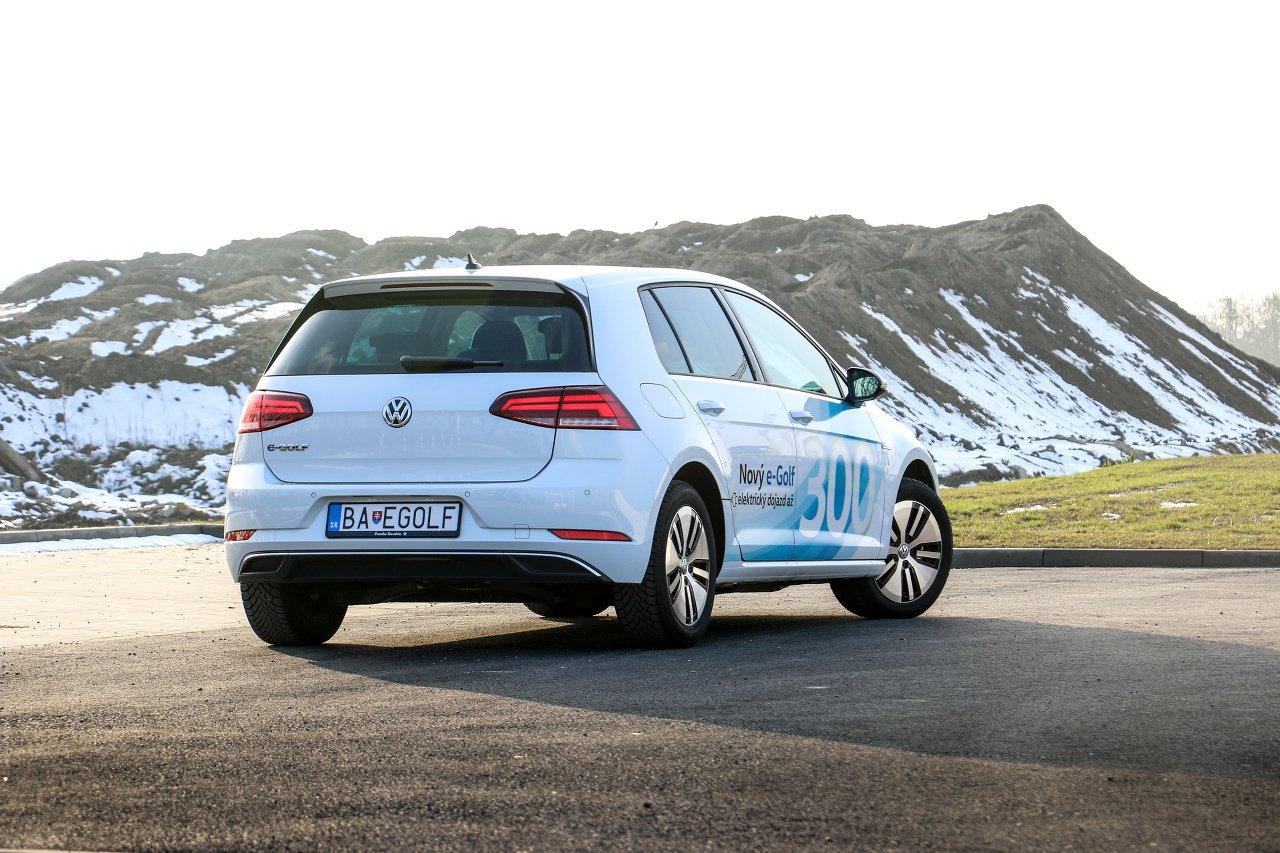 VW e-Golf Ilustračné foto