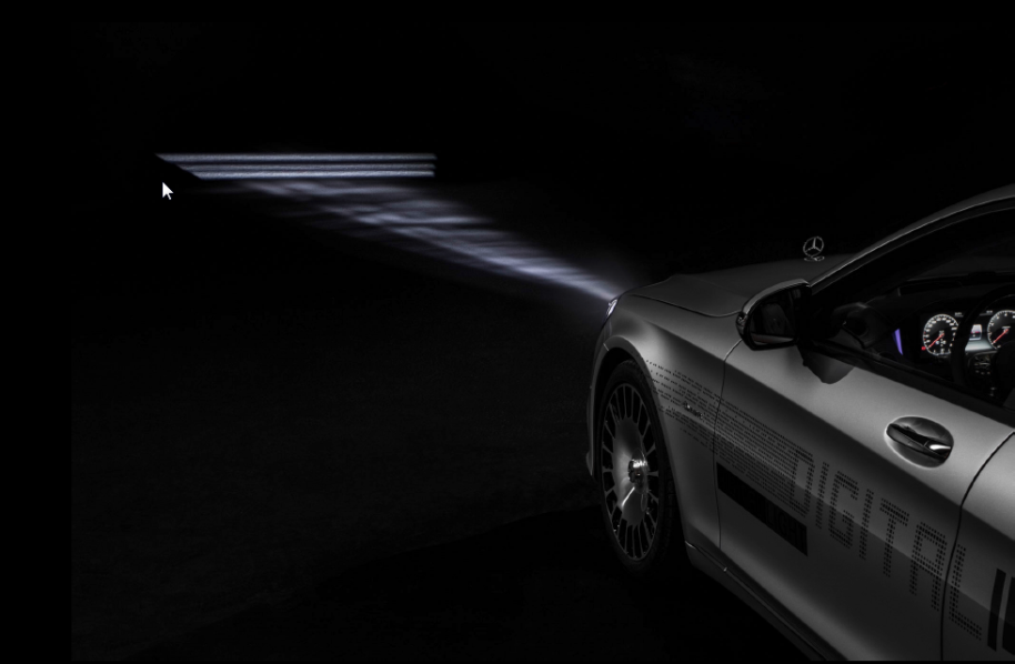 Digital Light Mercedes-Maybach