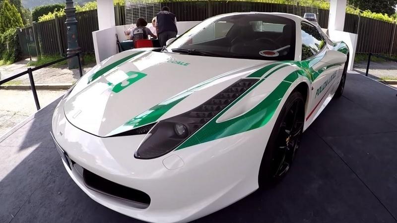 Ferrari 458 Spider milánskej