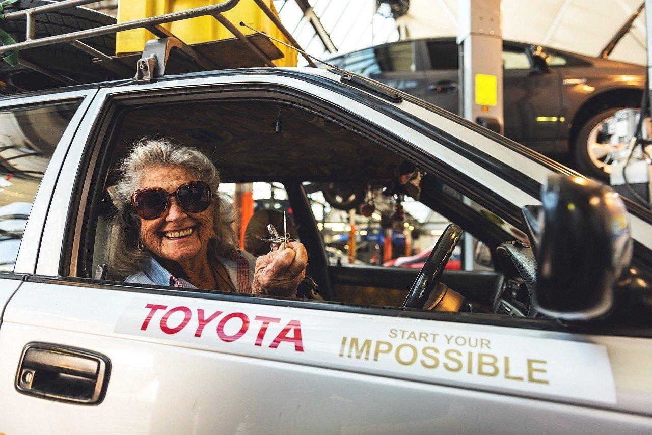 Julia Albu a Toyota