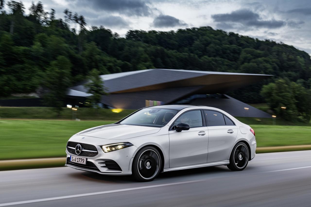 Mercedes A sedan 2018