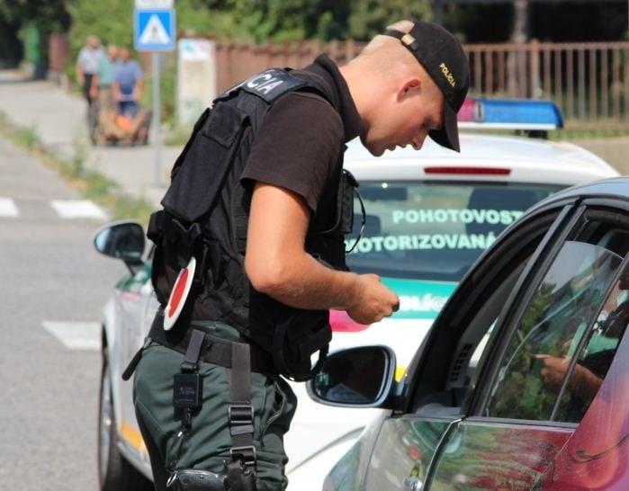 Policajt PMJ Ilustračné foto