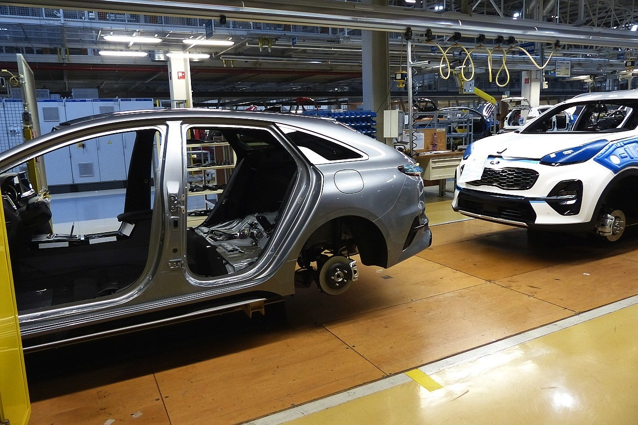 Kia ProCeed spustenie výroby