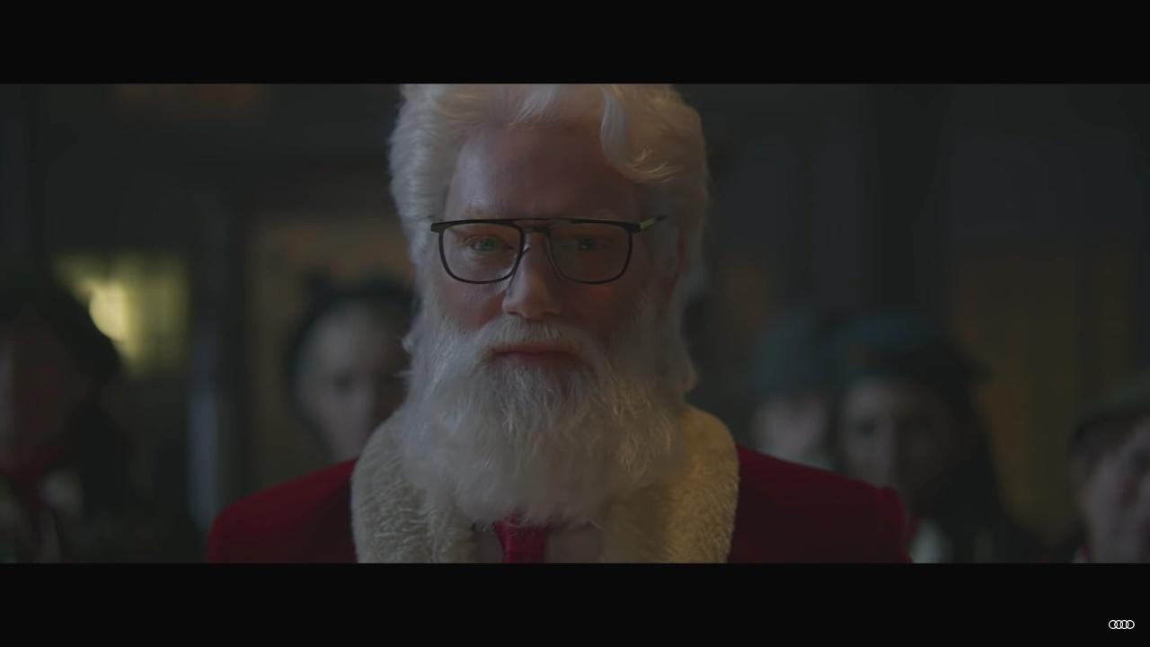 Santa Claus Audi RS