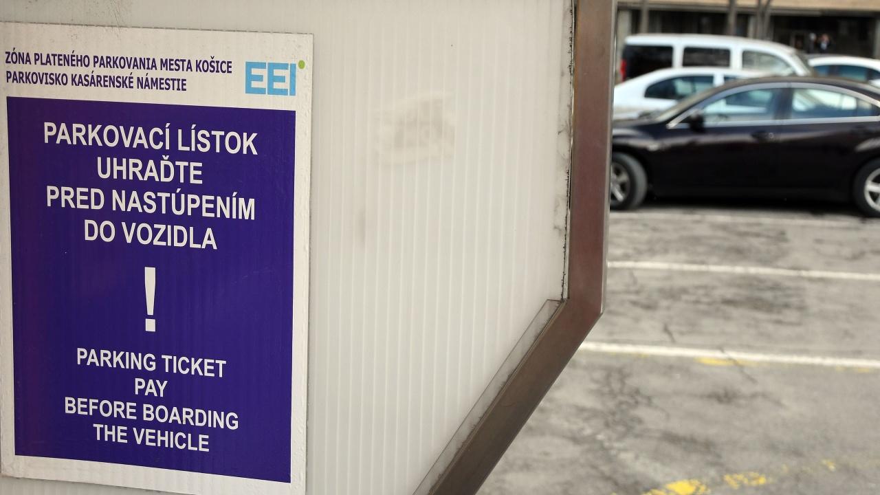 Parkovanie Košice Ilustračné foto