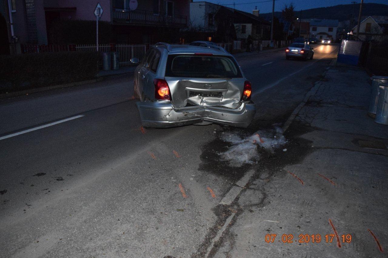 Nehoda Pažiť