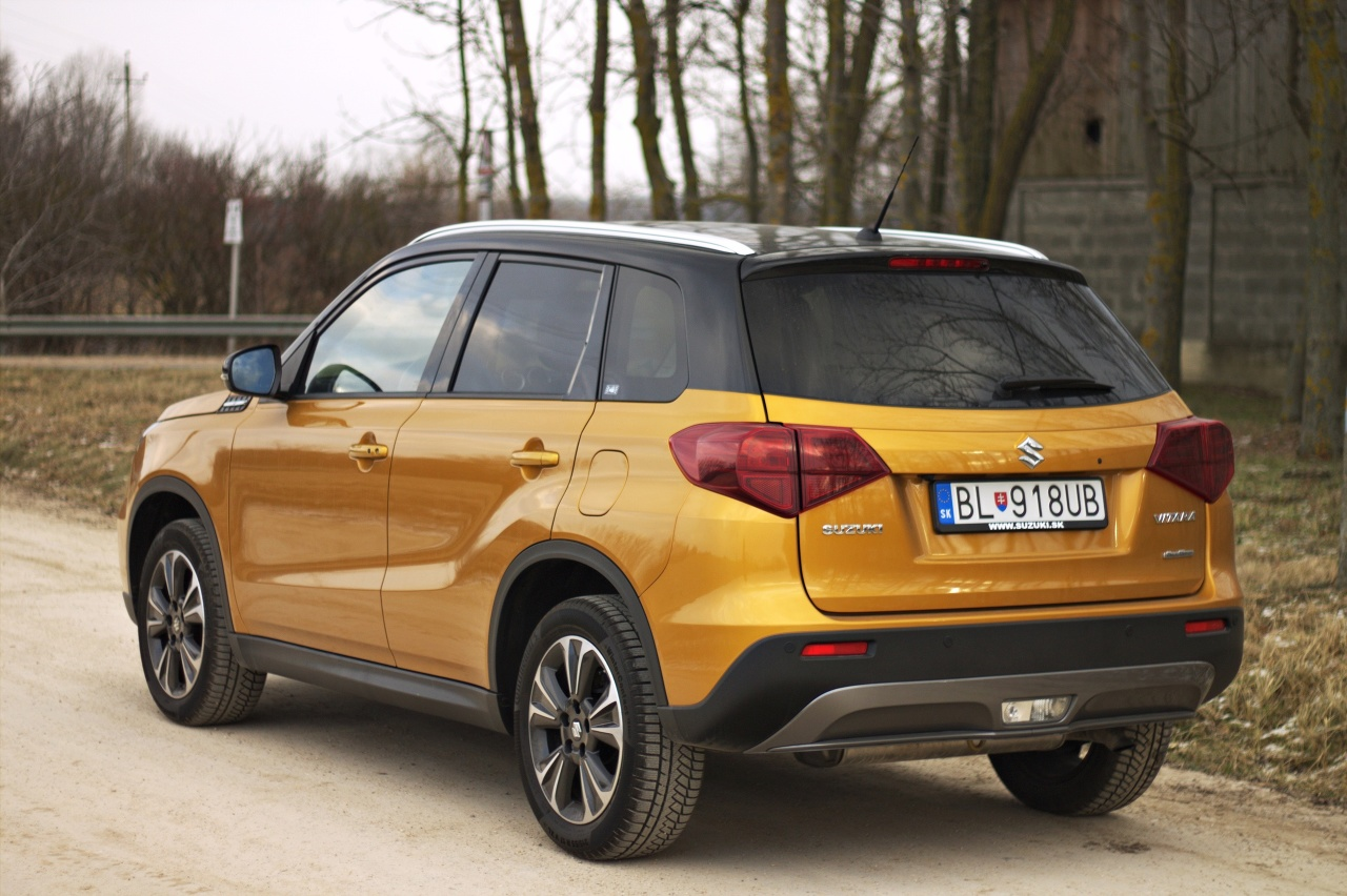 TEST: Suzuki Vitara 1,4 Boosterjet Elegance – Vitara v novom