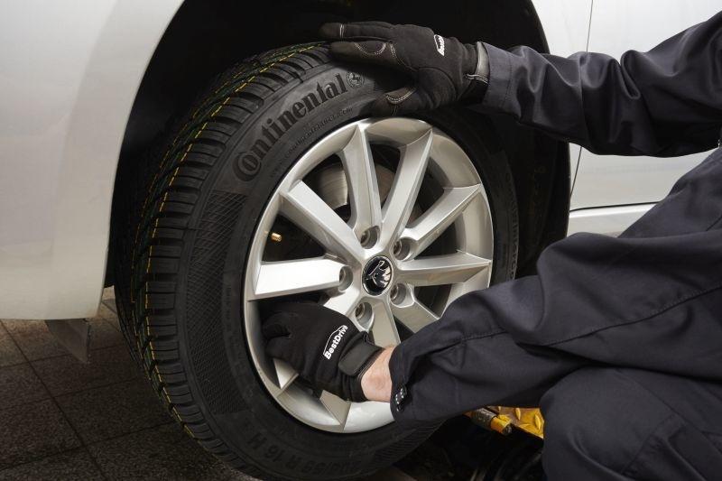 Continental výmena pneumatík