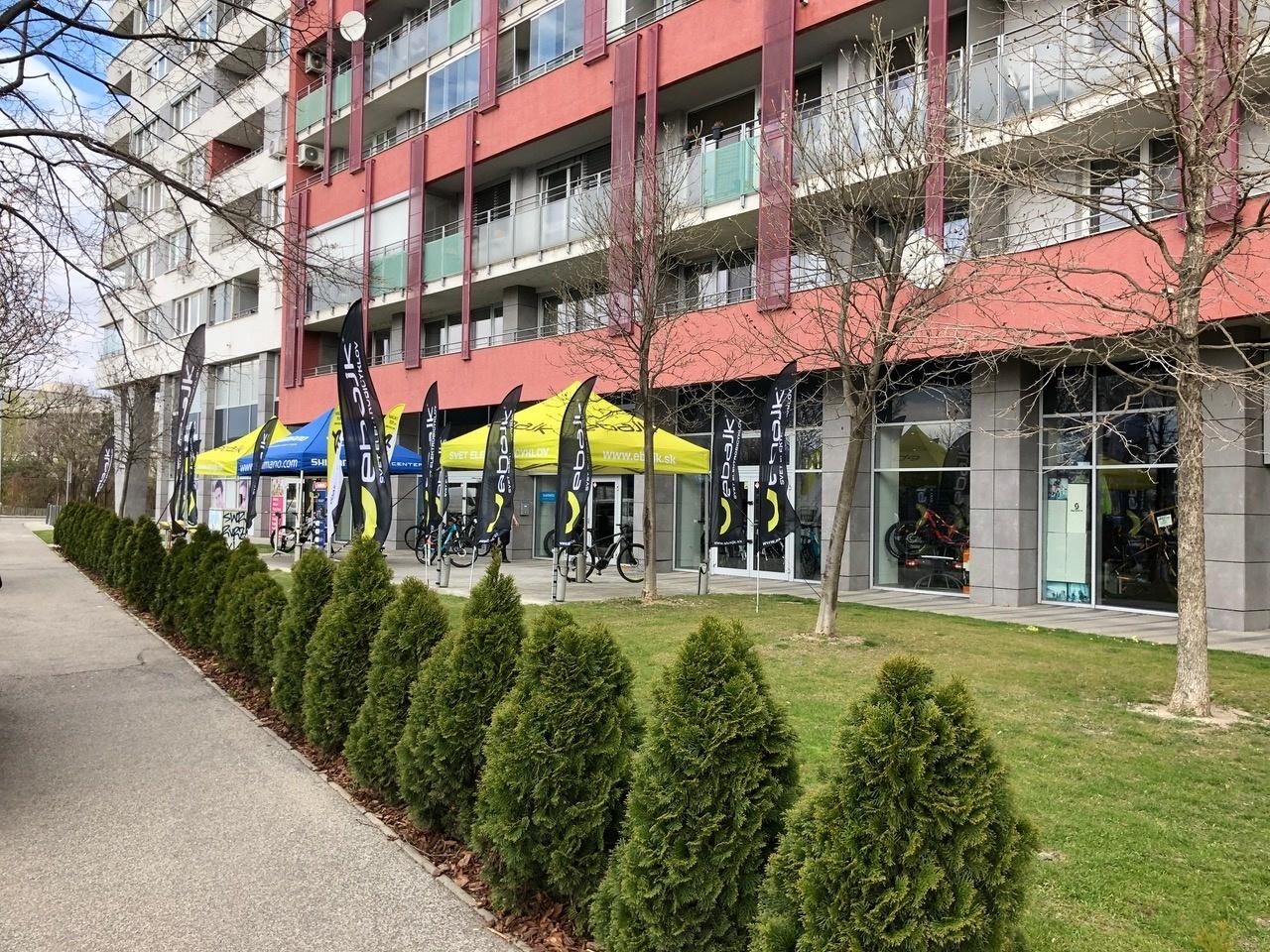 ebajk centrum Bratislava