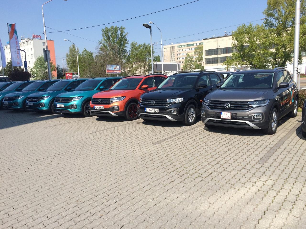 Volkswagen T-Cross na Slovensku