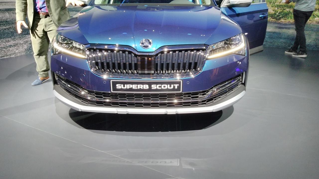 Škoda Superb Scout